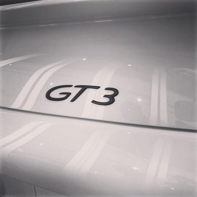 久しぶりのGT3です!