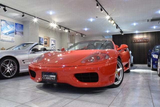 フェラーリ360を希少なスパイダー&マニュアルで楽しむ
