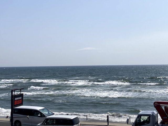 久しぶりの海!リフレッシュドライブです。